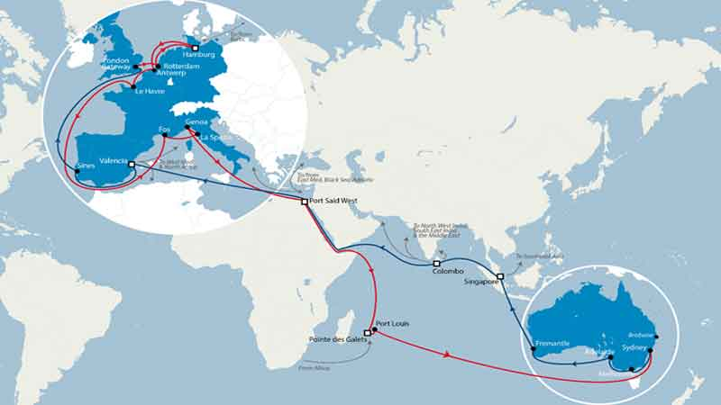 The CMA CGM Group upgrades its Europe / Indian Ocean & Australia service