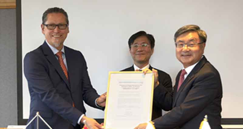 DSME and DNV GL signed agreement