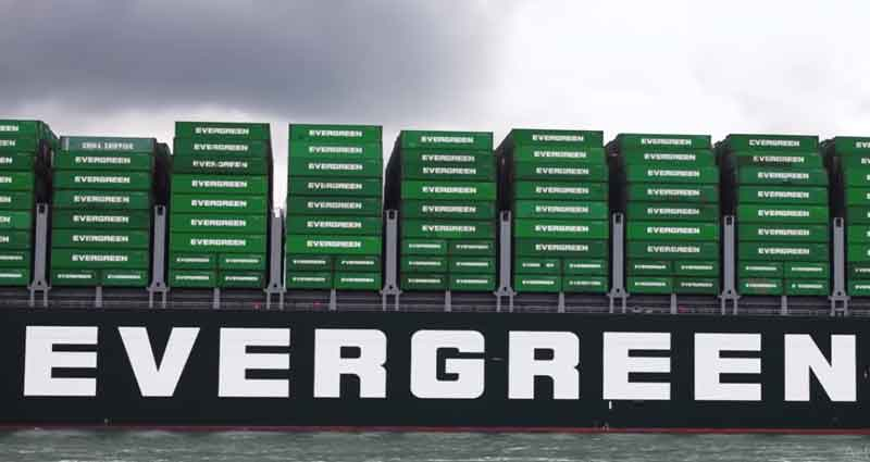 Green box vessel arrives In Rotterdam