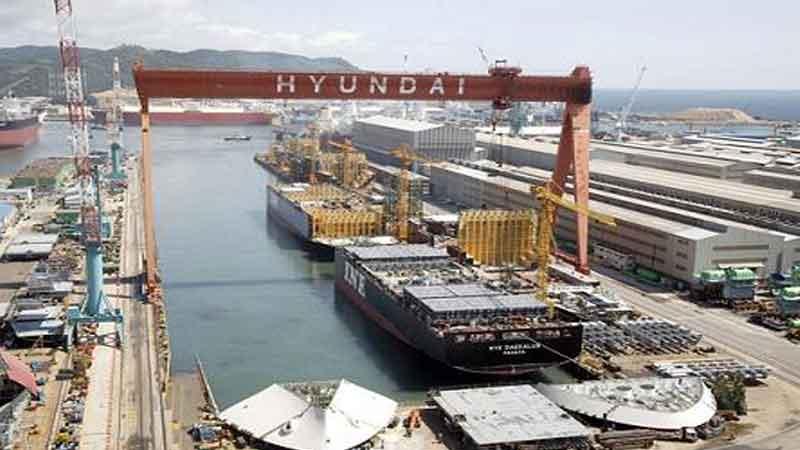 Hyundai Heavy Industries acquiring Daewoo Shipbuilding