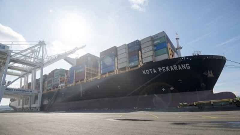 NWSA welcomes first PIL vessel since 2014