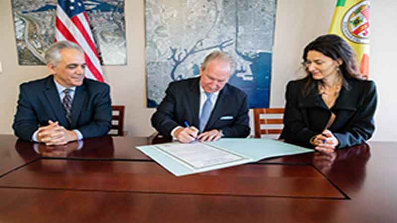 Ports of Los Angeles and Copenhagen Malmö sign on Sustainable Port Development
