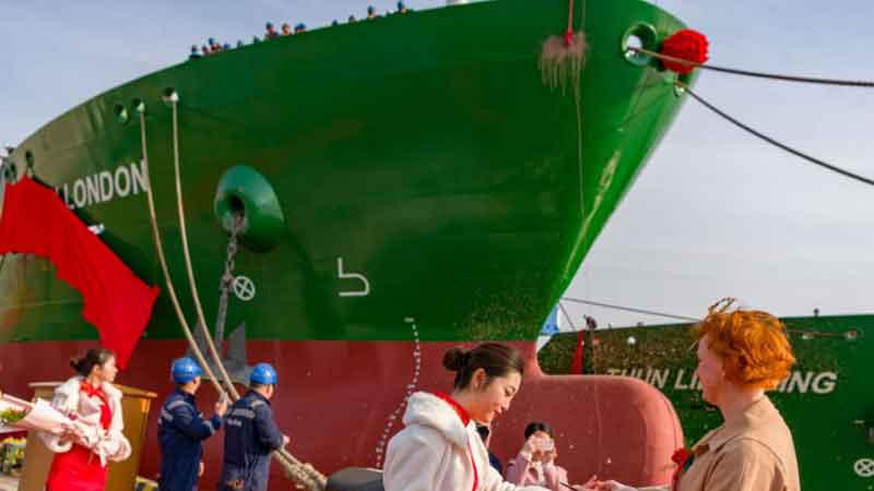 Thun Tankers conduct naming ceremony