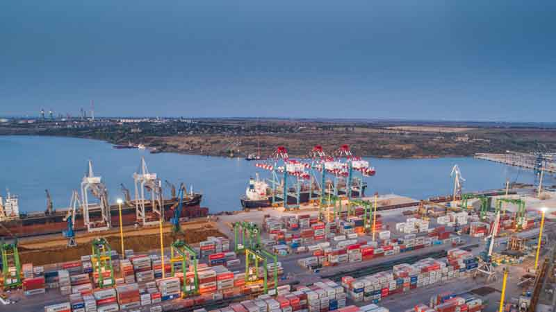 DP World buys majority stake in Ukraine's TIS container terminal