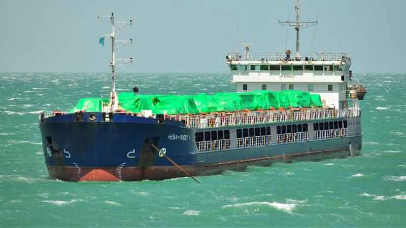 River-sea vessels of Volga Shipping delivered equipment to the Caspian sea
