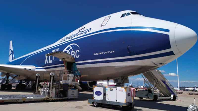 WFS secures ABC Airlines' new freighter handling operations contract at Madrid Airport